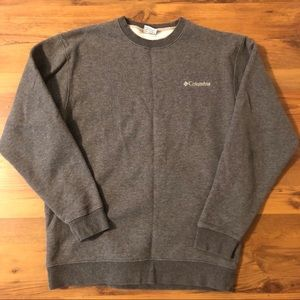 Vintage Columbia Spell Out Small Logo Sweatshirt